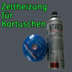 Zeltheizung für Gas Kartuschen